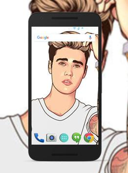 Justin Bieber Wallpapers HD screenshot 1