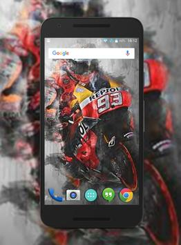 Marc Marquez Wallpapers HD screenshot 1