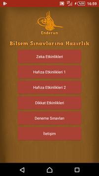 Enderun - Bilsem Sınavlarına Hazırlık poster