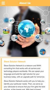 Steve Solution Network poster