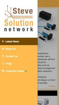 Steve Solution Network apk screenshot