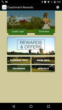 Coachman's Rewards poster