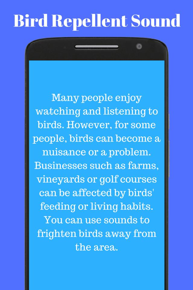 Bird Repellent Sound for Android - APK Download