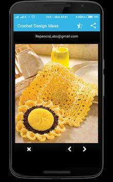 Crochet Design Ideas apk screenshot