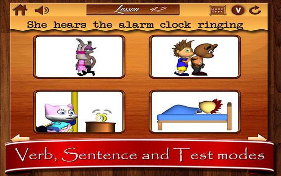 English Verbs for Kids-Part 1 screenshot 6