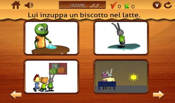 Verbi per i bambini 2- Italian poster