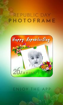 Republic Day Photo Frame 2018 poster