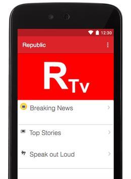 Republic TV Apk Free apk screenshot
