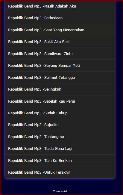 Free download mp3 selimut tetangga repvblik band