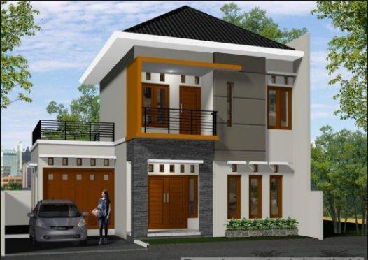 35 Desain Rumah Minimalis Tampak Depan Terbaru 2020