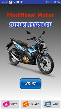 Modifikasi Motor Satria FU poster