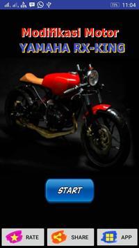 Modifikasi Motor Yamaha RX King poster