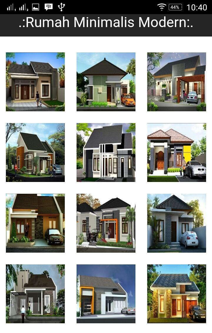 Model Rumah Sederhana Minimalis Modern For Android APK