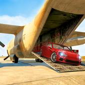Cargo Airplane Pilot Car Transporter Simulator icon