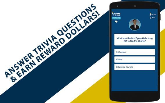 Reward The Fan Trivia screenshot 5