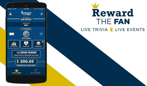Reward The Fan Trivia screenshot 8