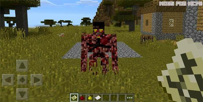 Mods for Minecraft Pocket PE poster