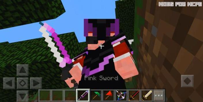Mods for Minecraft Pocket PE screenshot 1