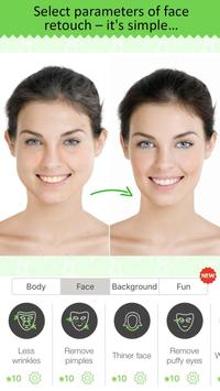 Retouch Me: body & face Editor for Beauty Photo apk screenshot