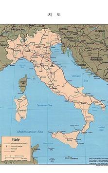 국가소개 (이탈리아) apk screenshot