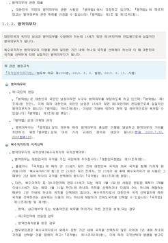 생활법령 (입영/국방 ) screenshot 3
