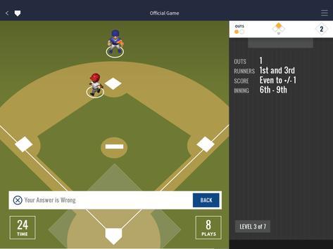 Ned Yost's Baseball Academics apk screenshot