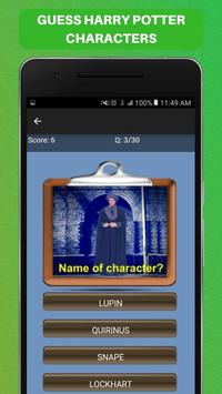 Guess Harry Potter Characters Challenge Game Free screenshot 4