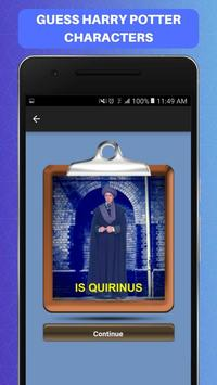 Guess Harry Potter Characters Challenge Game Free screenshot 5