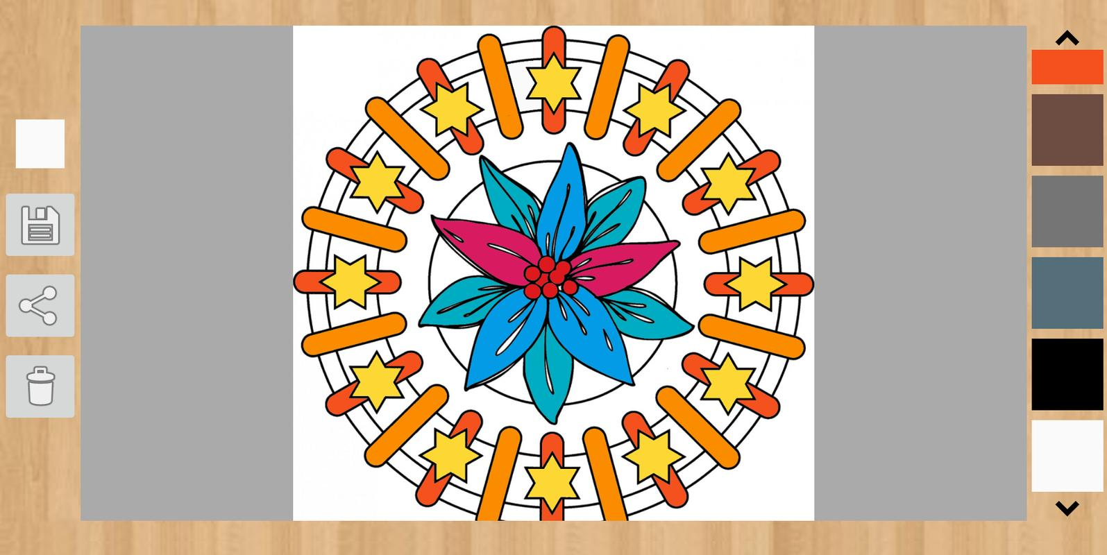 Mandala Coloring Book Apk Screenshot