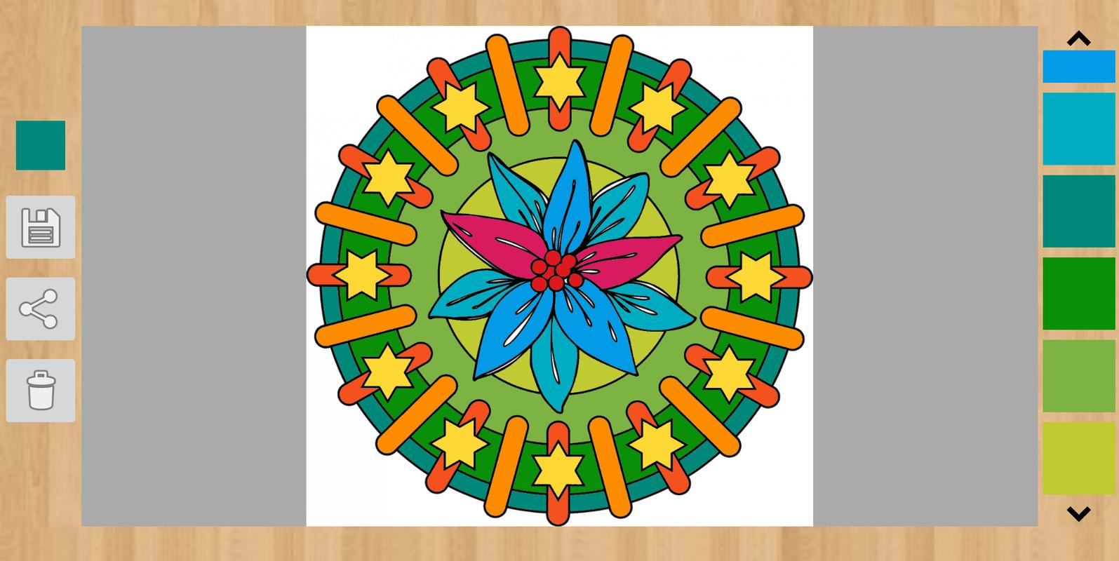 Flower Coloring Pages APK Download - Free Entertainment APP for ...