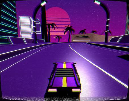 Retro Car Spider Hero Driving Simulator screenshot 8