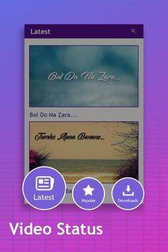 Video Status : Lyrical Video Songs apk screenshot