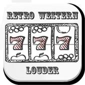 Retro Western Louder icon