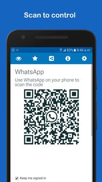 WhatsWeb for WhatsApp poster