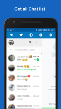WhatsWeb for WhatsApp screenshot 1