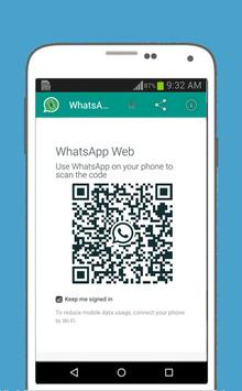 WhatsWeb For WhatsApp 截图 1
