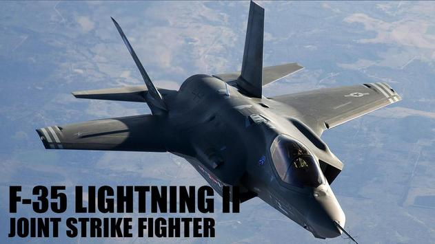 F-35 Lightning II Simulator poster
