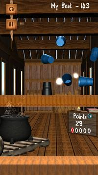 Shoot Bottle Glass 3D apk screenshot