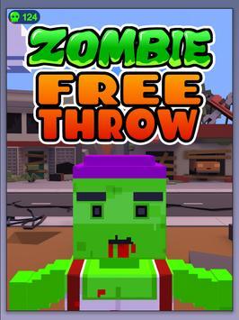 Zombie Free Throw screenshot 7