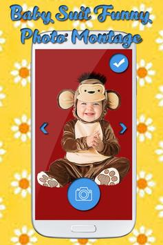 Baby Suit Funny Photo Montage apk screenshot