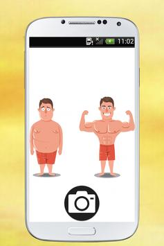 Body Shape Editor - Make Me Slim App screenshot 1