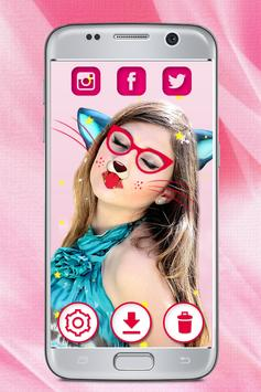 Cat Face Camera Filters – Animal Face Photo Editor poster