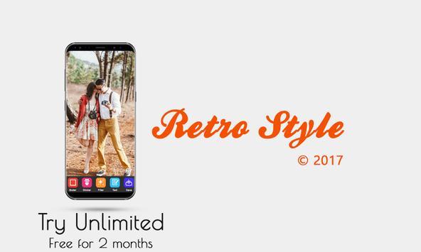 Retro Style Camera poster