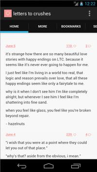 letters to crushes apk screenshot
