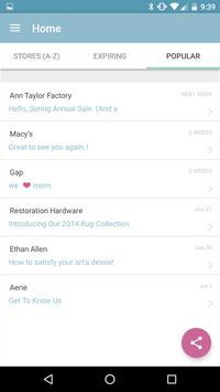 Shopami The email deals app apk screenshot