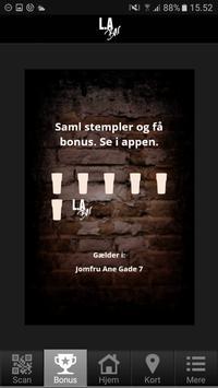 LA Bar Aalborg poster