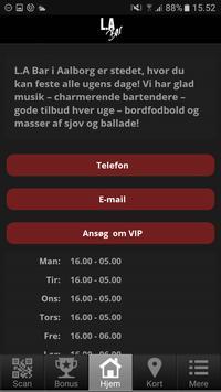LA Bar Aalborg apk screenshot