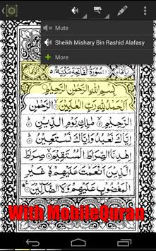 Shaykh Ghamidi MobileQuran screenshot 1
