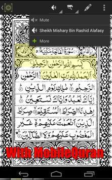 Shaykh Ghamidi MobileQuran apk screenshot