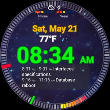 Ultrawatch Free Watch Face poster